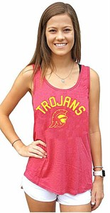 Ladies USC Trojans Rasia Tank Top Shirt on Sale