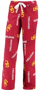 Ladies USC Trojans Varsity Crimson Jewell Lounge Pants