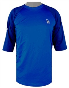 Los Angeles Dodgers Featherweight Therma Base Tech Shirt by Majestic