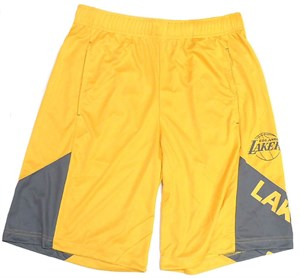 Los Angeles Lakers Gold My Favorite Game Synthetic Shorts on Closeout