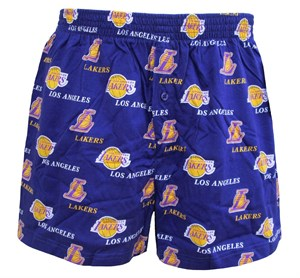 0d1539e0943 Los Angeles Lakers Mens Prospect Boxer Shorts by Concepts Sports | Los  Angeles Lakers