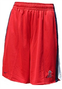 Los Angeles Angels MLB Classic Mesh Shorts By Nike Team Sports