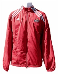 Louisville Cardinals College Climalite FZ Warmup Jacket By Adidas