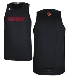 Louisville Cardinals Refract Performance Tank Top by Adidas