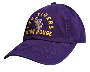 LSU Tigers Arch Relaxed Fit Baseball Cap