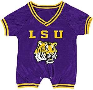 LSU Tigers Infant Super Fan Onesie by Colosseum