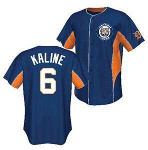 Majestic Al Kaline Cooperstown Team Leader Baseball Jersey