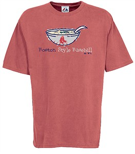 Majestic Boston Red Sox Stylin Pigment Dyed T Shirt
