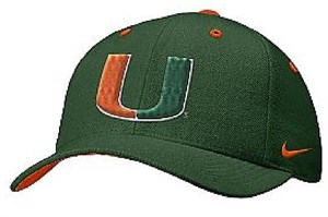 Miami Hurricanes College Sidelines Cap By Nike Team Sports