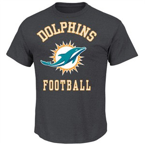 49e32090c Miami Dolphins Defensive Front IV Short Sleeve Tee By VF
