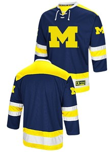the best attitude 94ca5 ccd8d Michigan Wolverines Adult Athletic Machine Embroidered ...