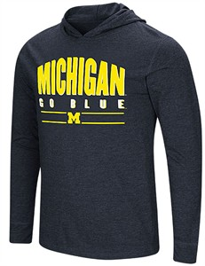 Michigan Wolverines Blue Do It For You Hoodie Long Sleeve T Shirt
