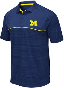 Michigan Wolverines Men's Victory Formation Performance Polo