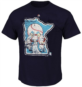 Minnesota Twins Cooperstown League Supreme T Shirt by Majestic