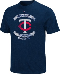 Minnesota Twins Cooperstown Legendary Victory T Shirt by Majestic