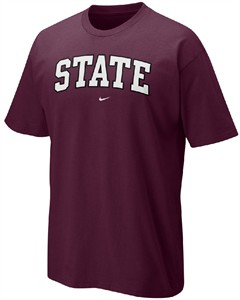 Mississippi State Bulldogs Classic College Short Sleeve T Shirt By Nike On Sale