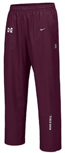 Mississippi State Bulldogs Maroon Hash Mark NikeFit Pants