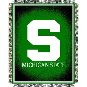 "Michigan State Spartans 48"" X 60"" College Acrylic Blanket By The Northwest Company"