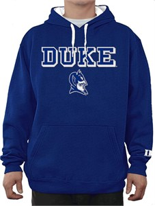 NCAA Duke Blue Devils Royal Embroidered College Classic Hoodie Sweatshirt