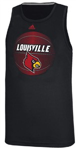 NCAA Louisville Cardinals Adidas High Scorer Climalite Synthetic Tank Shirt