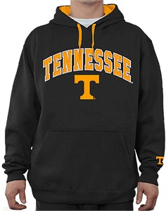 a651ff78 NCAA Tennessee Volunteers Black Embroidered College Classic Hoodie  Sweatshirt | Tennessee Volunteers Sweatshirts