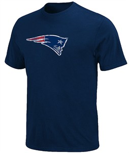 New England Patriots Vintage Logo II Tee Shirt by VF
