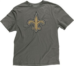 New Orleans Saints Retro Logo Slimmer Fit Throwback T Shirt