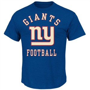 New York Giants Defensive Front IV Short Sleeve Tee By VF