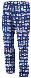 New York Giants Team Faithful III Pajama Pants by VF