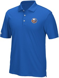 New York Islanders Mens Adidas Performance Climacool Golf Polo Shirt