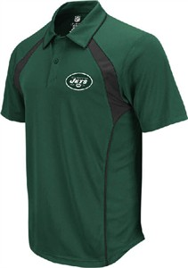 New York Jets Green Trainer Polo Shirt by Reebok  87c48c013