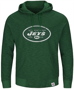 78443af2a New York Jets Mens Green Game Day Classic Hoodie Sweatshirt by Majestic