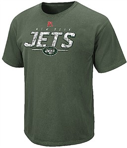 New York Jets Mens Green Vintage Roster II Short Sleeve T Shirt by VF on Sale