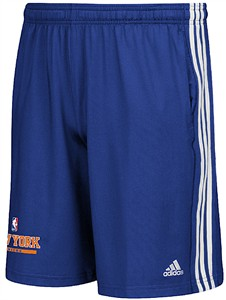 New York Knicks Climalite Enough Said Practice Shorts by Adidas