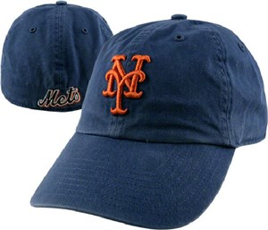New York Mets Fitted Franchise Home Cap by 47 Brand
