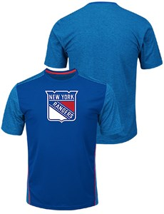 hot sale online 61fee 474cf New York Rangers Mens Royal Glowing Play Synthetic Crew ...