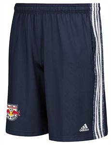 New York Red Bulls Adidas Navy Climalite Team Issue Synthetic Shorts