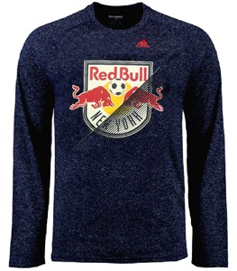 New York Red Bulls Striker Adidas Climalite Ultimate Long Sleeve Shirt