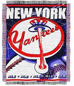 "New York Yankees 48"" X 60"" MLB Acrylic Blanket By The Northwest Company"