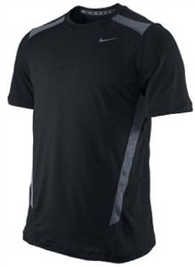 81ba9a88d83c Home   Nike Black Speed Fury Dri-FIT Short Sleeve Workout Top