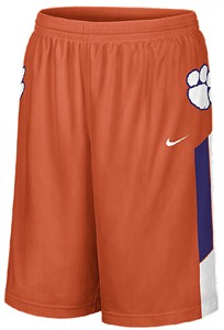 Nike Clemson Tigers Screen Printed Replica Basketball Shorts