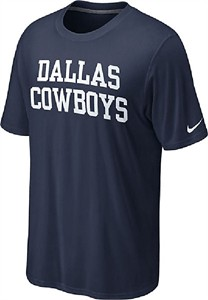 Nike Dallas Cowboys Blue Dri-FIT Legend Coaches T Shirt