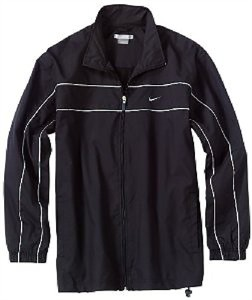 8e321e74f8cd Nike Mens Black Microfaille Track Jacket