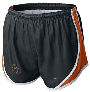 Nike New York Mets Womens Tempo Running Shorts