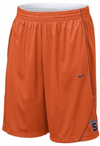 Nike Syracuse Orangemen Dri-Fit Official Pre-Game Basketball Shorts