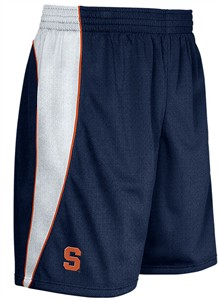 Nike Syracuse Orange Mens Blue Senior Shorts on Sale