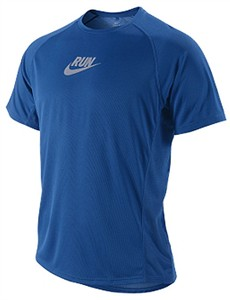 Nike Team Royal Sublimated Graphic Running Shirt For Men