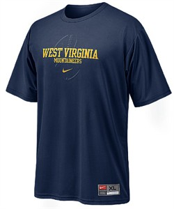 e37faf6e Nike West Virginia Mountaineers Dri –FIT T Shirt-Conference Performance | West  Virginia