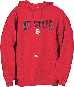 North Carolina State Wolfpack NCAA Embroidered Hooded Sweatshirt By Adidas