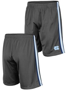North Carolina Tar Heels Men's Grey Santiago Synthetic Training Shorts